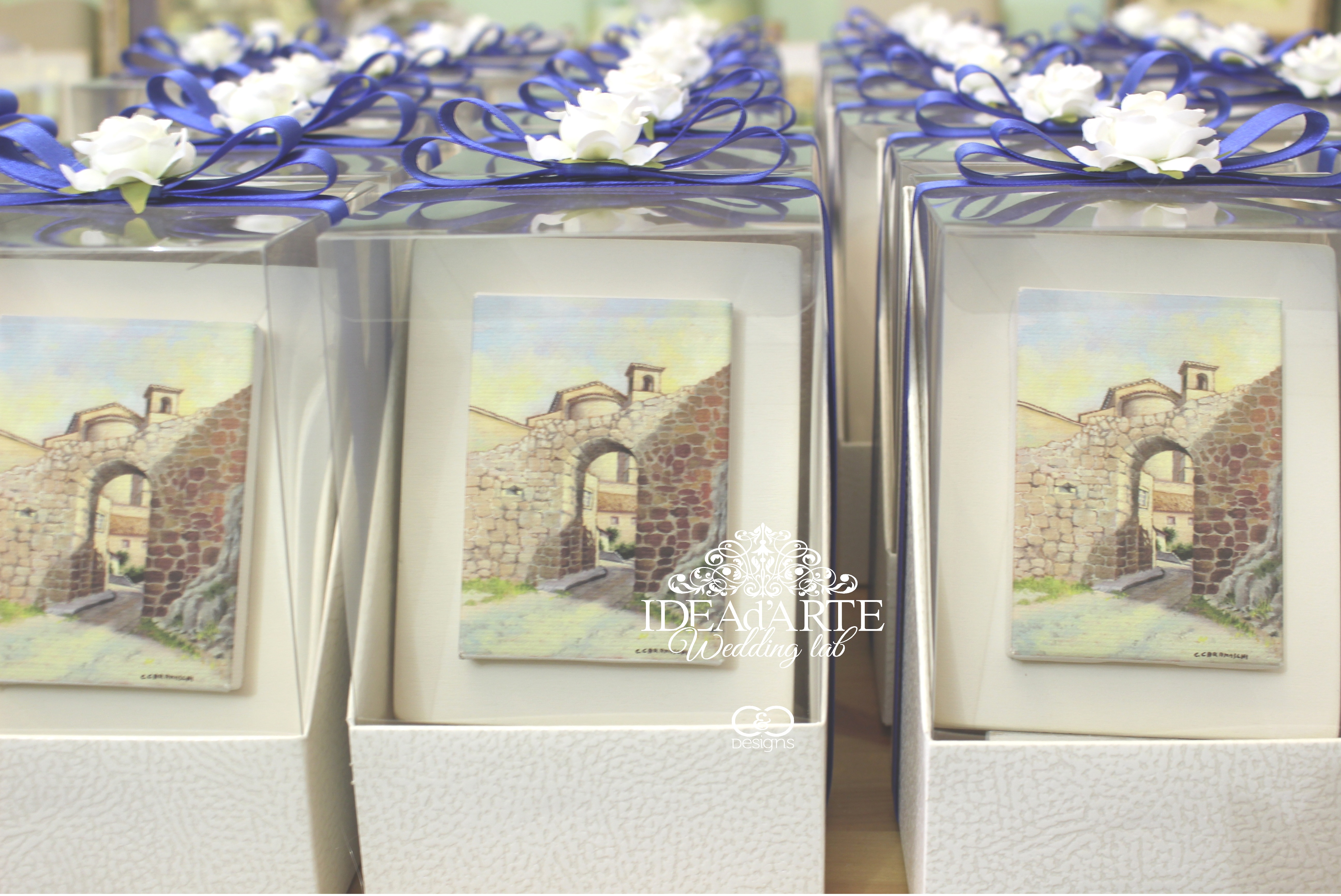 Artistic wedding favors - Roma, Italy - Idea of art Keepsakes